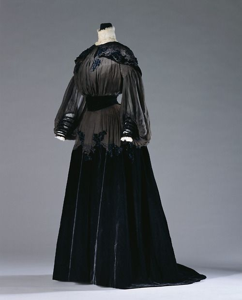 Afternoon Dress Jeanne Paquin, 1903 The Kyoto Costume Institute