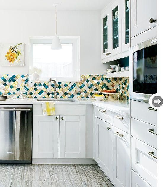 Interior Design For Kitchen Tiles: 75 Best Tile Backsplashes, Etc. Images On Pinterest