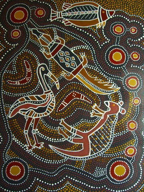 Aboriginal Dot Paintings