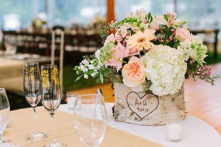 Birch Tree Wedding Ideas - Mon Cheri Bridals