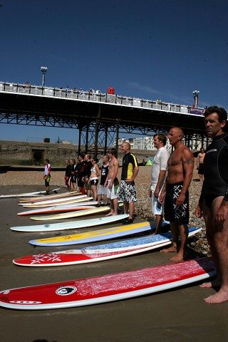 Love Your Ocean - 10 Events by the Sea this Summer - Paddle Round the Pier, Brighton