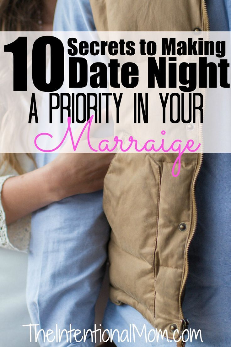 Importance of dating your spouse