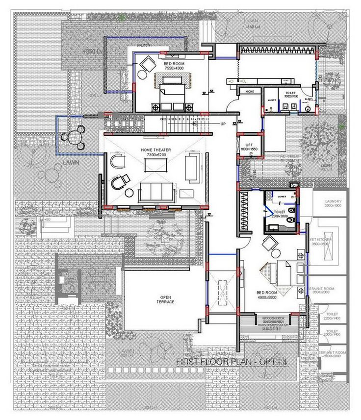 364 best images on pinterest architecture plan for Villa architecture design plans