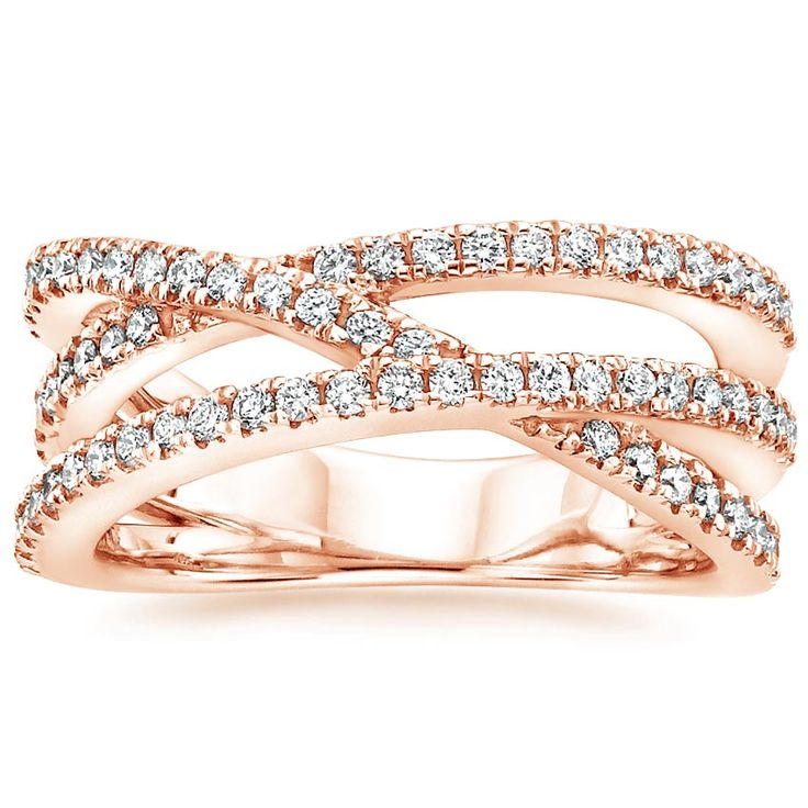 14K Rose Gold Entwined Bisou Diamond Ring (1/2 ct. tw.) from Brilliant Earth  http://www.brilliantearth.com/Entwined-Bisou-Diamond-Ring-%281/2-ct.-tw.%29-Rose-Gold-BE2FPD3R6411/