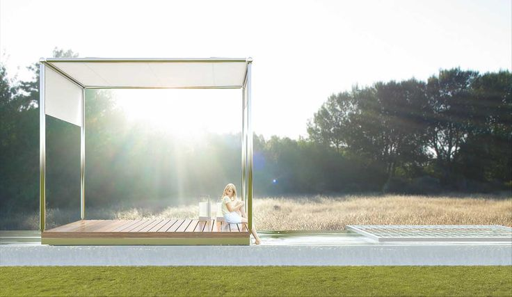 Nika Pool Gazebo by http://kadima.es