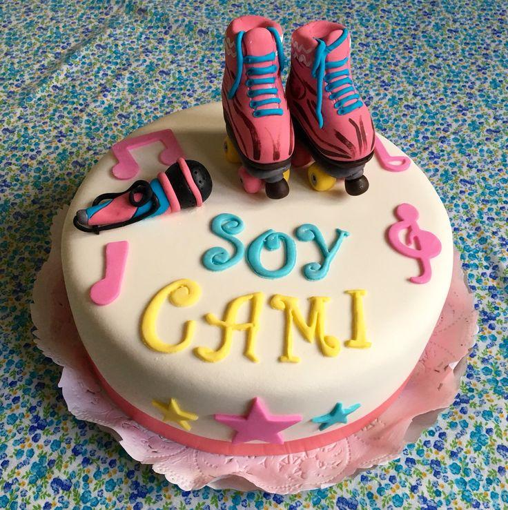 Torta de cumpleaños temática de Soy Luna.  #cake #torta #pastel #cumpleaños…
