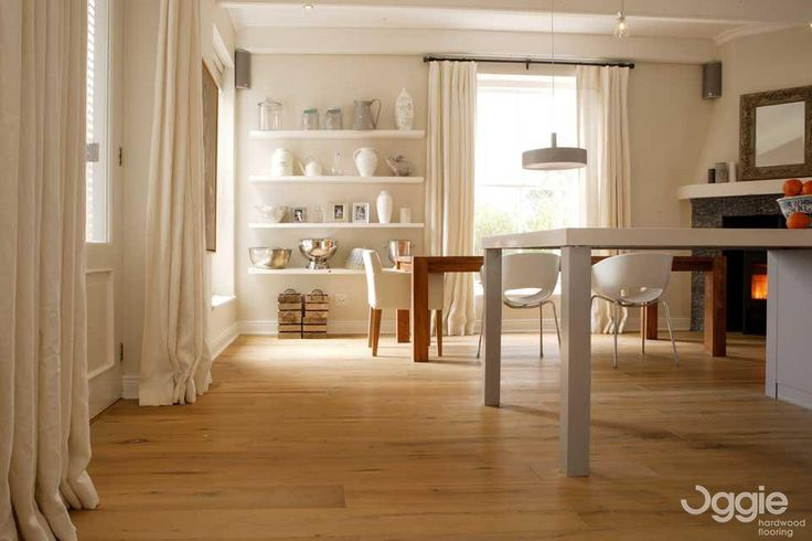 Floor Specification Type: Oggie Oak Legno Rustic Distressed Unfinished Thickness: 15/4mm Width:189mm Length:1830mm Finish: Woca Denmark White & Grey Oil Mix