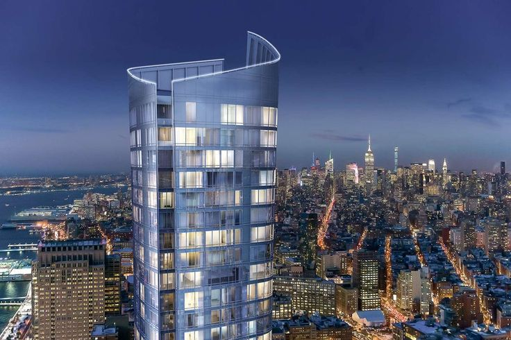 That's a Wrap: Kohn Pedersen Fox's Tapered Tower Breaks Ground in Lower Manhattan - Architizer