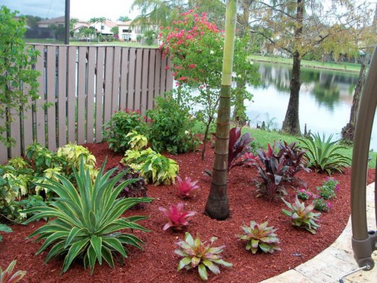 Landscaping Ideas with Red Mulch