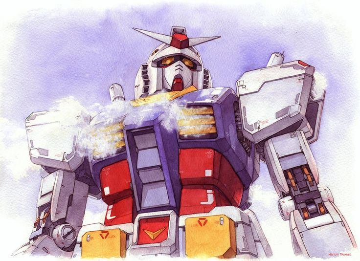Watercolor Illustrations by Hector Trunnec