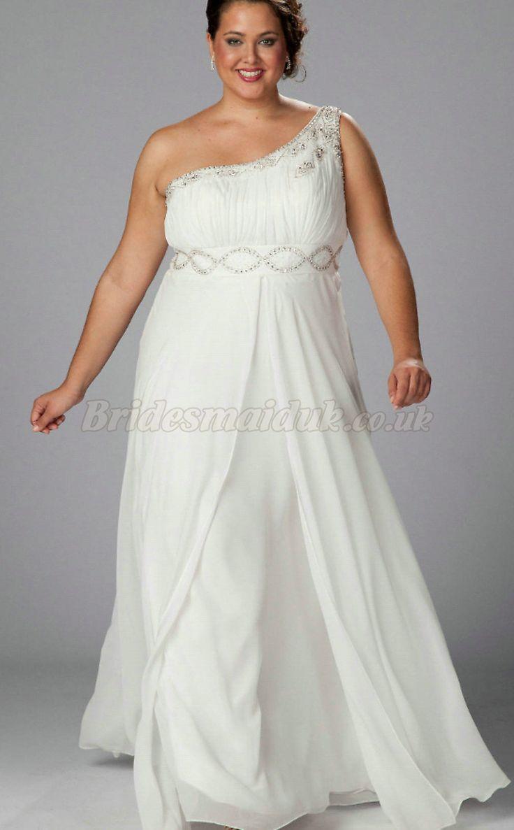 24 best plus size bridesmaid dresses images on pinterest plus long one shoulder a line fashionable plus size bridesmaid dresses plus size bridesmaid dresses ombrellifo Gallery