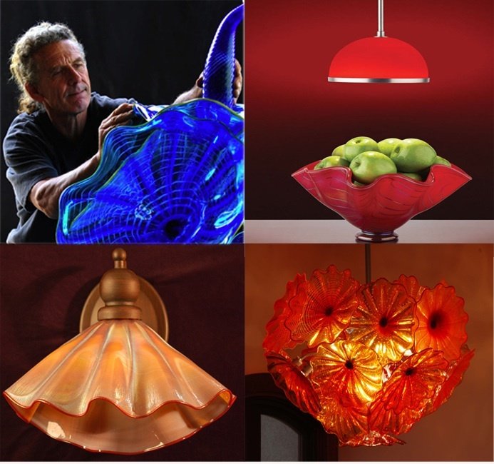Strini Art Glass (also featuring Hart Lighting in the upper right)