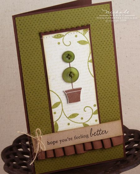 charming Topiary Card