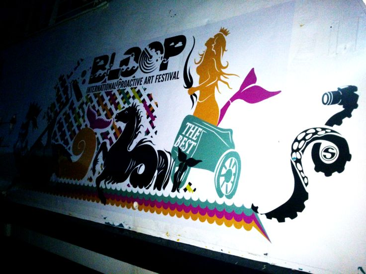 BLOOP 2014 preview MAVERICK BALEARIA BOAT bloop festival: 20th July/24th August 2014 #bloopfestival #ibiza #festival #boat #artworks