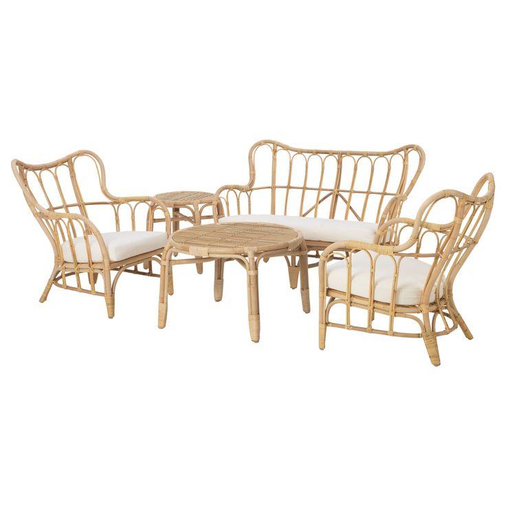 Die besten 25+ Gartenmöbelset mit schirm Ideen auf Pinterest - Sofa Im Garten 42 Gestaltungsideen Fur Gemutliche Sitzecken Im Freien