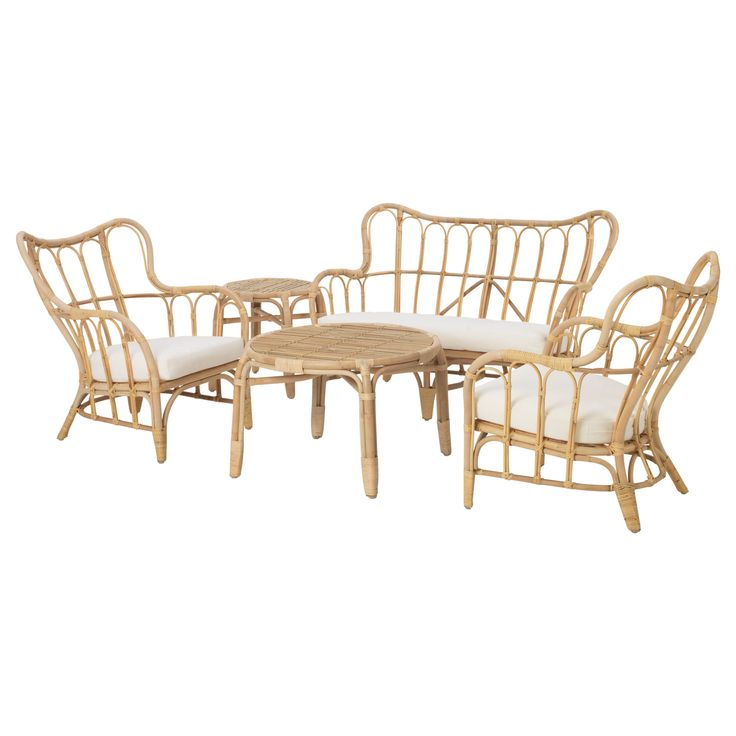 MASTHOLMEN 4-seat conversation set, outdoor - IKEA