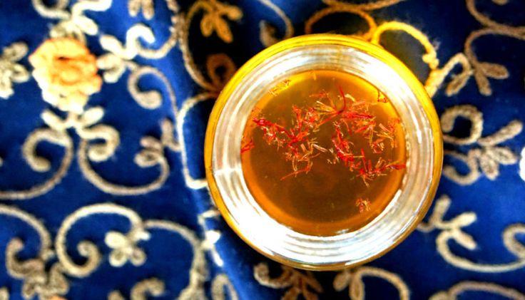 Šafránový čaj z Kašmíru #koolinarium