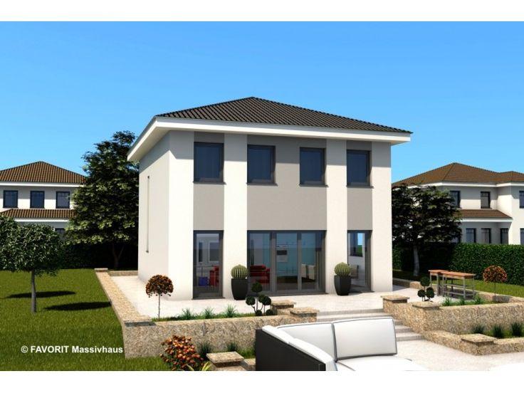 Citylife 103 einfamilienhaus von bau braune inh sven for Walmdach modern