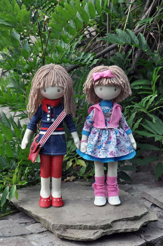 Hey, I found this really awesome Etsy listing at https://www.etsy.com/listing/241873956/textile-doll-decorative-doll-collector