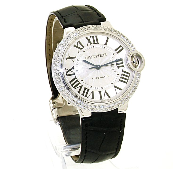 Cartier Ballon Bleu Diamond. Refnr: 3004 - article number: CA0430 #watch #cartier #cartierwatches | cartier watches mens | cartier watch for men | mens jewelry | vintage watches | vintage horloges | horloges heren | SpiegelgrachtJuweliers.com