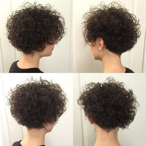 Wondrous 1000 Ideas About Short Permed Hair On Pinterest Short Permed Short Hairstyles Gunalazisus