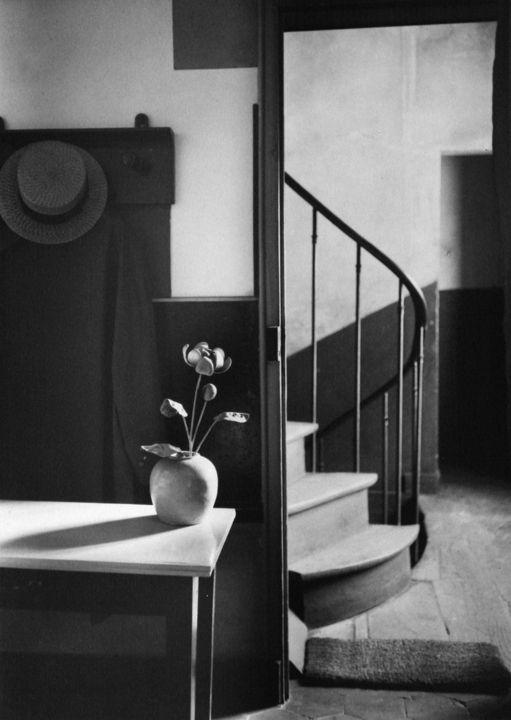 Chez Mondrian, Paris by André Kertész • 1926 • As part of the Bruce Silverstein Gallery — Estate of André Kertész (1925-1930: Paris): Chez Mondrian, Paris, Andrekertesz, Andre Kertesz, André Kertész, Chezmondrian, 1926, Photographer