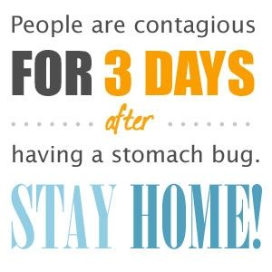 How long is a person contagious after having the stomach flu? (What is the contagious period for norovirus and others?) - Stop the Stomach Flu