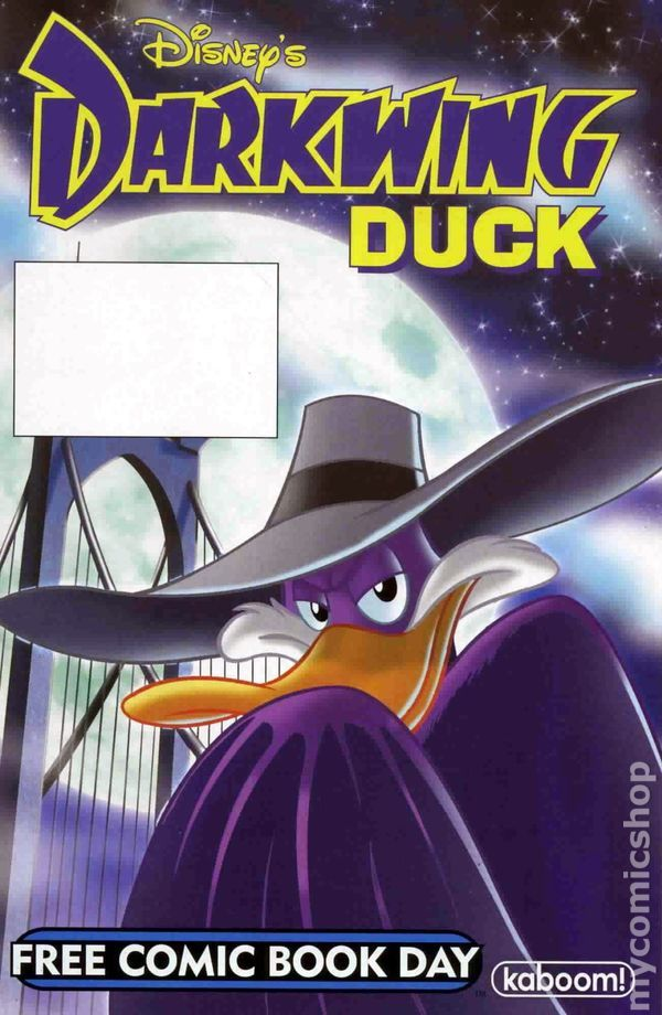 Darkwing Duck Chip n Dale Rescue Rangers (2011) FCBD 0