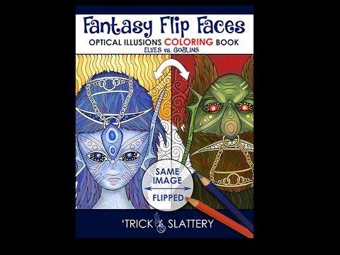 Video Walk-through of Fantasy Flip Faces - Optical Illusions Coloring Book: http://tricksplace.com/fantasy-flip-faces-coloring-book/  #coloring #coloring #coloringbook #coloringbook #adultcoloring #adultcolouring #opticalillusions #coloringforadults