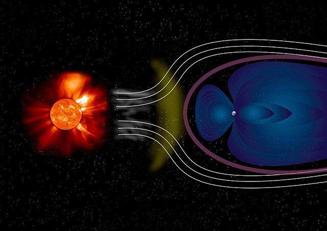 Das koronale Loch CH34 hat einen erhöhten Sonnenwind von bis 700 Kilometern pro Sekunde auf die Erde geschleudert. Der schnelle solare Wind hat das Erdmagnetfeld vom 11. bis 15. Oktober zum vibrier…