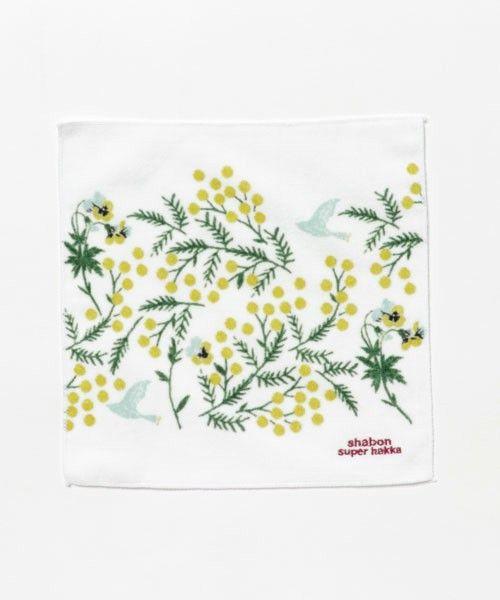 【ZOZOTOWN】SUPER HAKKA(スーパーハッカ)のハンカチ/ハンドタオル「野花とパンジー刺繍プリントハンドタオル」(04000670)を購入できます。