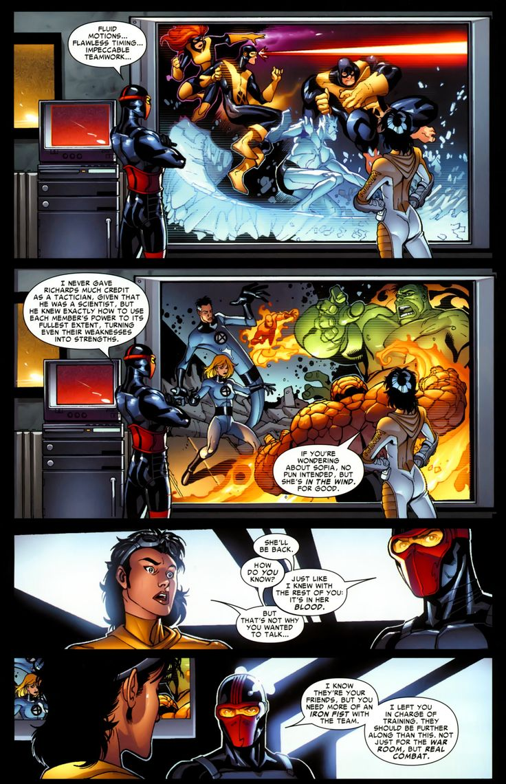 New Warriors (2007) Issue #4 - Read New Warriors (2007) Issue #4 comic online in high quality