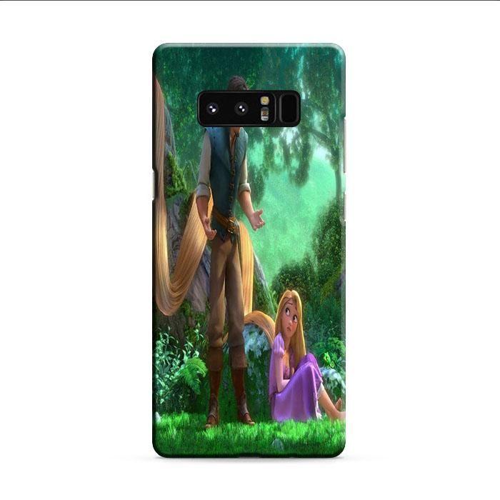 Tangled Cartoon Rapunzel Samsung Galaxy Note 8 3D Case