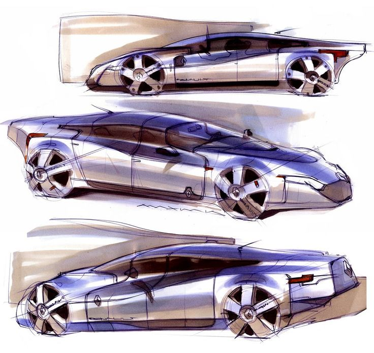 Renault Sketches