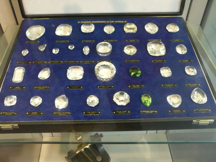 Gem stones for sale at a diamond polishing factory, Amsterdam, Netherlands. October 2008