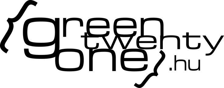 greentwentyone.hu || Saját logóm.