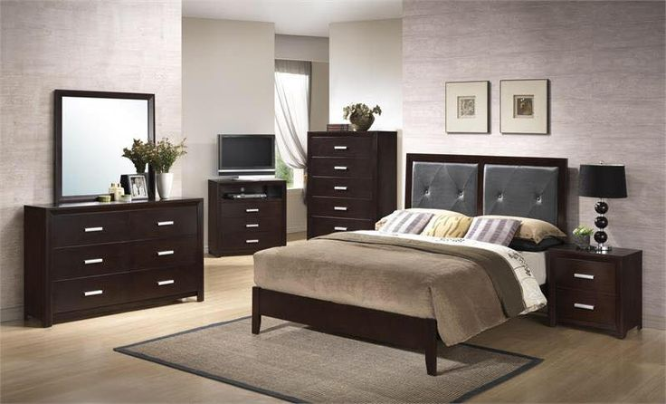 JMD Furniture's Fourth of July sale is happening right now! 12pc Bedroom Set with Mattress for only $545. 12 pieces include Dresser Mirror Headboard Footboard 2 rails 2 slats also comes with a mattress, box spring, and 2 pillows. Chest is $200 extra and nightstands are $100. King is additional $350.  #furniture #bedroom #affordable #mattress #fourthofjulysale