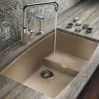 17 best ideas about blanco kitchen sinks on pinterest for Silgranit countertops