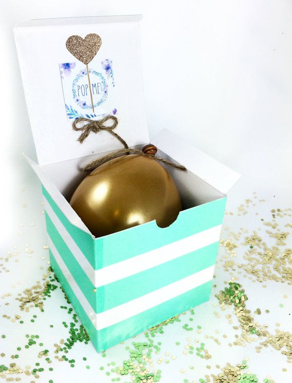 Now that hes popped the question...its YOUR turn! POP the question to ask your girls to be your bridesmaid with this colorful boho floral themed balloon in a box. When she opens the box, shell love the excitement when she pops the balloon to find confetti and a special note from you! The Kit Includes: Colorful Flower Themed Box Gold Balloon filled with the note and confetti String and Popping Stick  The note inside says: He popped the question and now it my turn...Jacquie, will you be my…