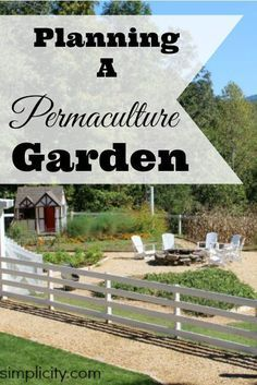 Interested in permaculture, but not sure where to start? Here are some steps to planning a permaculture garden this year.  Planning A Permaculture Garden   http://areturntosimplicity.com