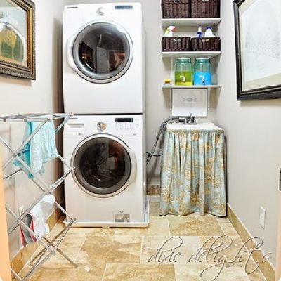 Create Fabulous Style in a Small Laundry Room: Small Laundry Rooms Can Still Be Stylish