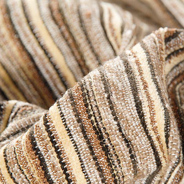 Striped Wool Fabric from Original fabrics & yarns by DaWanda.com