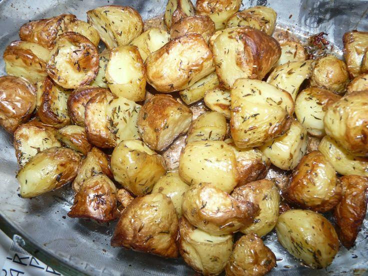 Recettes d'une mère de famille nombreuse: Pommes de terre au four au cumin