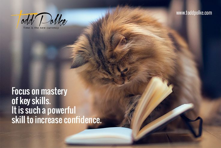 Focus on mastery of key skills.  It is such a powerful skill to increase confidence.