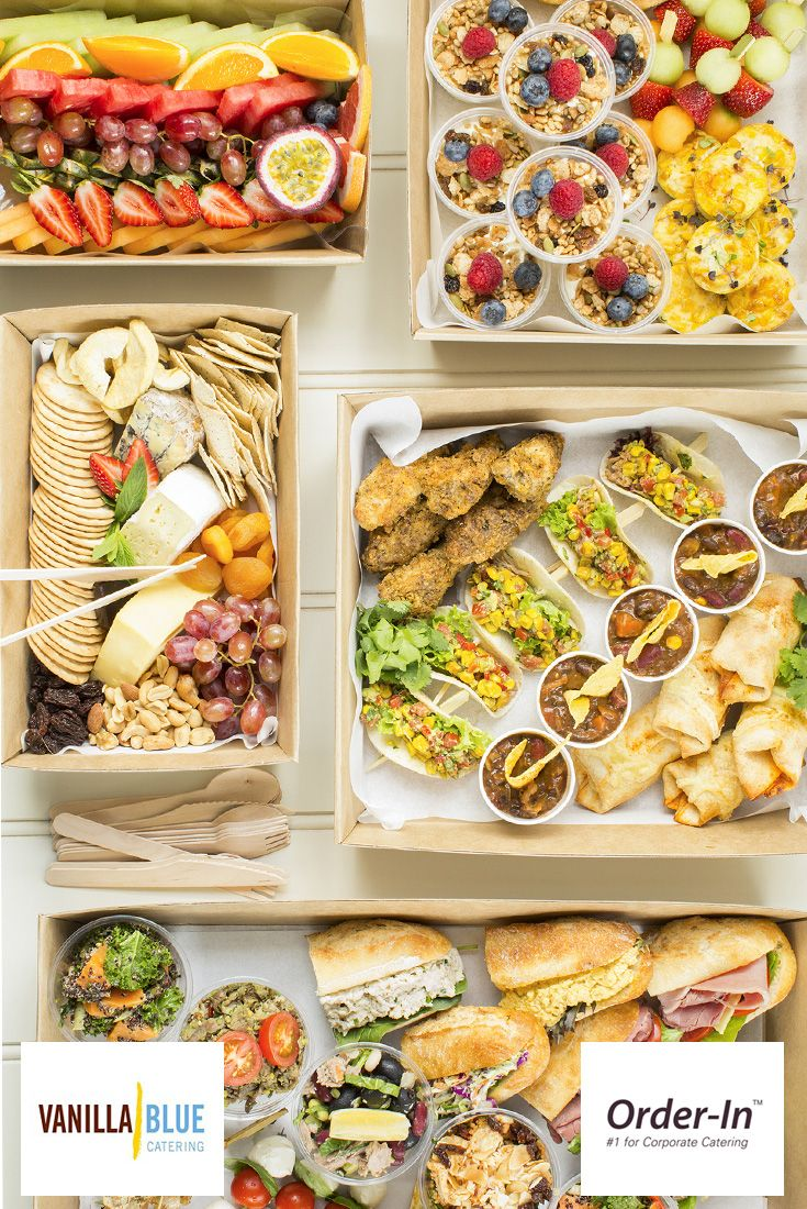 Count On Vanilla Blue For Delicious North Sydney Office Catering