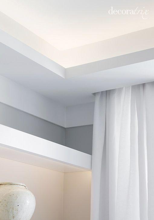 Las 25 mejores ideas sobre molduras techo en pinterest - Molduras techo ...