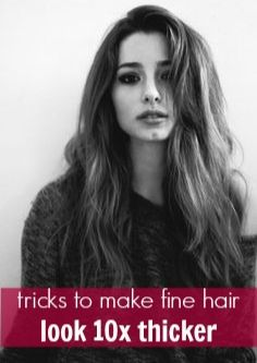how to make your hair thicker for guys
