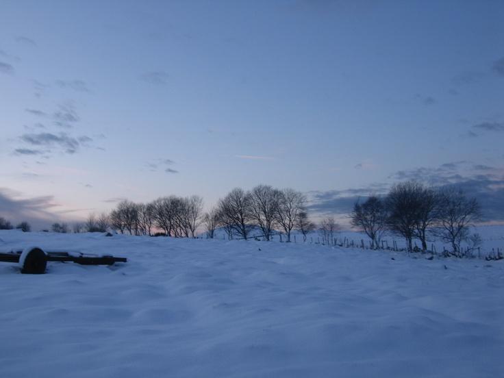 Vinter på Flassi.