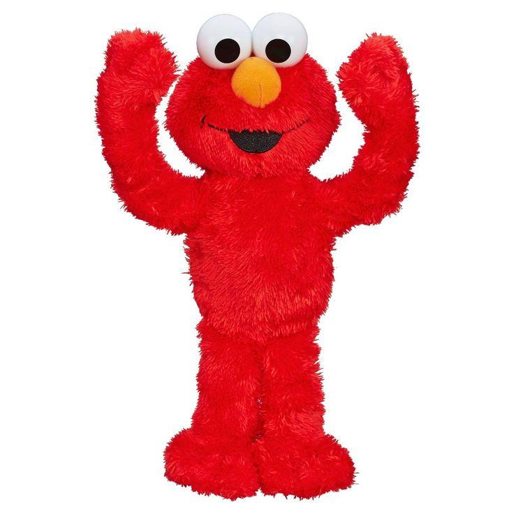 Sesame Street Peek A Boo Elmo, Red