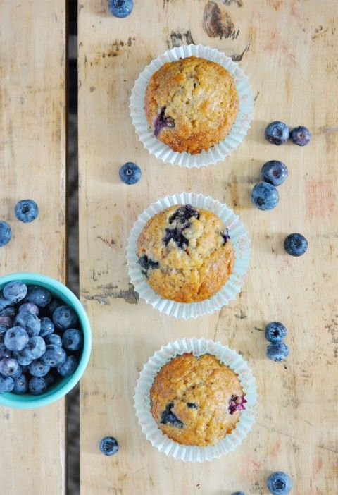 Healthy Blueberry Banana Muffins | lark